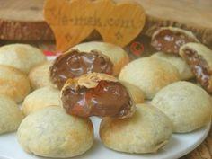 Üç Malzemeli Un Kurabiyesi Tarifi, Nasıl Yapılır? Puff Pastry Recipes, Homemade Beauty Products, Flan, Nutella, Tart, Muffin, Cookies, Breakfast, Desserts