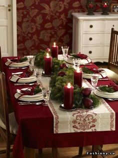 Noël – une déco de table traditionnelle – Cocon de décoration: le blog