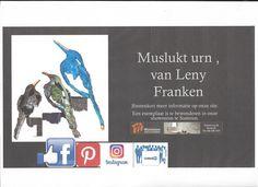 Muslukt , Leny Franken ( Atelier L-2) nu ook op onze site en in onze showroom Weinheimer natuursteen