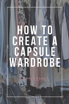 Capsule wardrobes are the minimal solution to having nothing to wear. Read about my tips when it comes to creating a capsule wardrobe Core Wardrobe, Capsule Wardrobe, Heavy Jacket, Finals Week, Wardrobes, Lifestyle Blog, Minimalism, Give It To Me, March