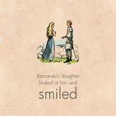 Caspian and Ramandu's daughter