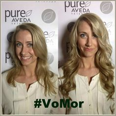 VoMor is here! Hair extensions that bring out your natural beauty in as little as 30 minutes.   #VoMor #PureAveda #HairExtensions