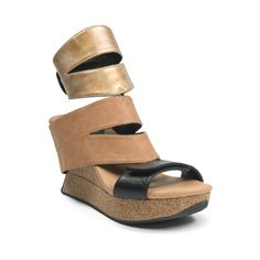 cfeccb72a Women s Modzori Karma Wedge T-Strap Sandal Pearl Gold Beige