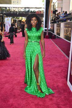 Folake Kuye Huntoon of Style Pantry at the Oscars in Jewel by Lisa African Print Fashion, Fashion Prints, Style Pantry, Love Her Style, Red Carpet Fashion, Colorful Fashion, Dress Skirt, Silk Dress, Beautiful Outfits