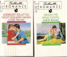 gebrauchtes Buch – 1. Buch: Judith Bowen/ 2. Buch: Linda Varner – 1. Verzeih mir meine Zweifel/ 2. Ungeküsst sollst Du nciht schlafen gehen