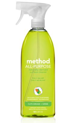 put the hurt on dirt with method all-purpose cleaner in lime + sea salt. it's non-toxic, biodegradable, and packs a punch with the power of plants.