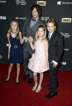 Norman Reedus Photos: 'The Walking Dead' Season 4 Premiere Event