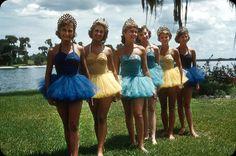 Cypress Gardens Aquamaids-1952