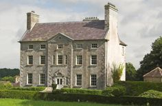 Country Life chooses two romantic Irish country houses for sale in the… Country Estate, Country Life, Country Houses, Georgian Architecture, Architecture Details, Irish Cottage, Georgian Homes, English House, Tower House