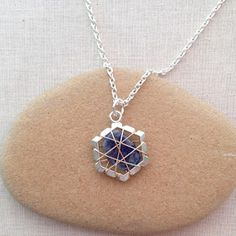 Lisa Yang's Jewelry Blog: Two Ways to Wire Wrap Undrilled Stone Pendants