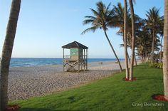 Morning Lifeguard Stand, Deerfield Beach