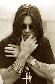 Ozzy Osbourne (UK) - went to concert where he bit head off the bird literally-met him with band at Marriott hotel in STL - he gave my nephew his autograph - luv Ozzy!!