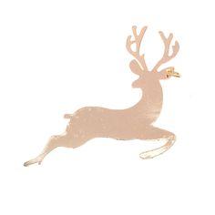 Rg 22 Lucky Charm Deer col. Gold  -  Rg 22 Γούρι Ελάφι χρ. Χρυσό
