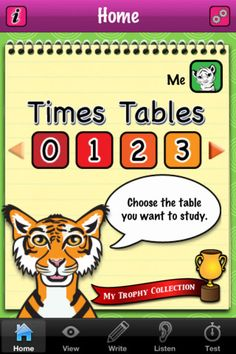 Free educational ap for children: TimesTableLite – A multiplication tables learning tool for kids    BY MAGNICODE, INC