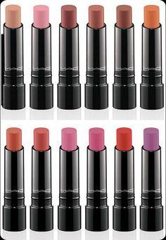 Mac lipstick :) pretty colors