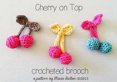 kersjes haken - crochet cherries