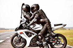 # dream & Me Bike Couple, Motorcycle Couple, Suzuki Motorcycle, Biker Love, Biker Girl, Moto Scrambler, Kawasaki Bikes, Bike Photoshoot, Black Audi