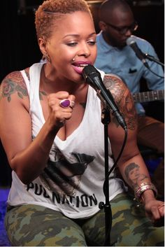 That natural though! Love Chrisette