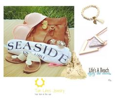 """""""Life's A Beach, #tanlinesjewelry"""" by freida-adams ❤ liked on Polyvore"""