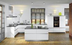 White, beautiful kitchen