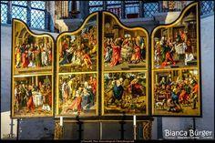 Frohes Fest! Merry Christmas! St. Marienkirche in Lübeck (Dez 2014) #Lübeck #Kirche #church #SchleswigHolstein #biancabuergerphotography #Deutschland #Germany #shootcamp #shootcamp_ig #travel #Reise #Kirchendecke #Gewölbe #historisch #Basilika #christlich #christian #historic #basilica