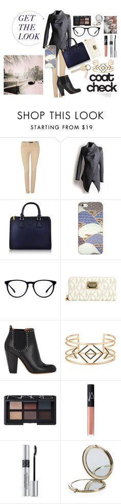 """""""Get The Look"""" by estieb ❤ liked on Polyvore featuring moda, Salsa, Casetify, MICHAEL Michael Kors, Givenchy, Stella & Dot, NARS Cosmetics, Essie, Christian Dior e Henri Bendel"""