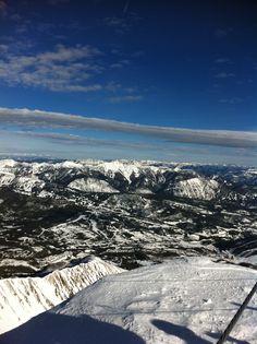 Skiing at Big Sky Montana