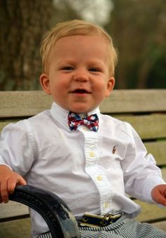 One can never start wearing bow ties too early.