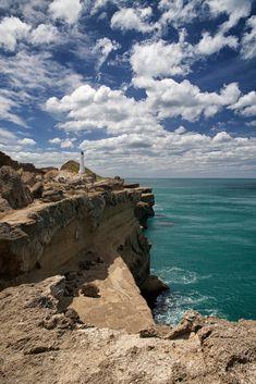Castlepoint Lighthouse, Wellington | New Zealand (by Célia Mendes Photography)
