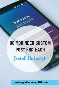 will creating unique posts for each of your social media platforms make a huge difference for your audience? Is each social media that…