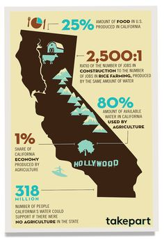 34 Surprising Facts You Need to Know About California's Drought California Drought, Information Board, Information Graphics, 10 Interesting Facts, Construction Jobs, Water Conservation, Environmental Science, Need To Know, Surf Girls