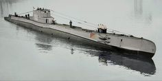 ORP Orzeł was the lead ship of her class of submarines serving in the Polish Navy during World War II. Her name means Eagle in Polish. Entering the Hel peninsula naval base, 1930s.