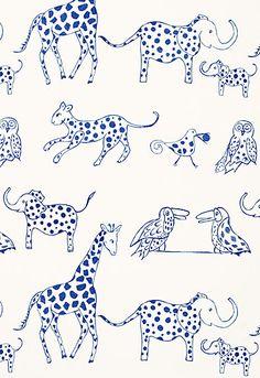 Jungle Jubilee Schumacher Fabric