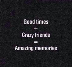 Here's to making more memories!