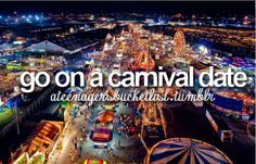 go on a carnival date.