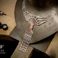WOW classy diamond necklace are amazing AD# 2145674047 Diamond Necklace Set, Stone Necklace, Diamond Jewelry, Silver Jewelry, Onyx Necklace, Diamond Pendant, Girls Jewelry, High Jewelry, Bridal Jewelry