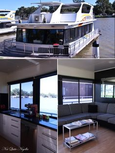 There is nowhere I prefer to be than on a houseboat.