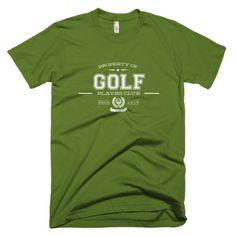 The PLAYRS Club Men's Golf T-Shirt – Light