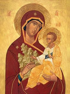 Mother of God the Uncut Mount, $3.00, Catalog of St. Elisabeth Convent #icon…