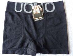 Boxer Homme caleçon short lingerie slip noir taille M/L (38) neuf  bixtra