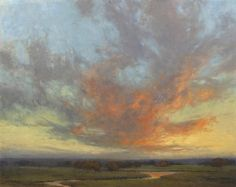 Kim Casebeer | Moments Before Nightfall - Oil