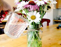 Extend the life of cut fowers with these tricks.