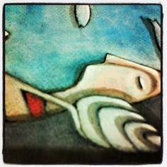 """Tiziana Solito - """"La voce del mare"""". Close up."""
