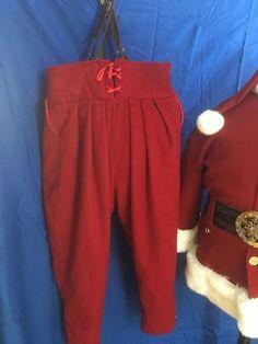 Bespoke Clothing, Santa Outfit, Santa Suits, That Look, Harem Pants, Costumes, Fabric, Xmas, Christmas