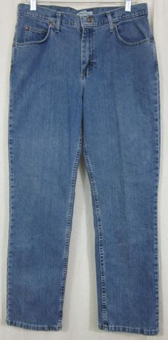 Riders Jeans Size 12 Med Relaxed Fit 33x30 Free Shipping #Riders #Relaxed