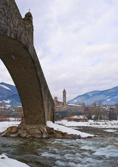 Il Ponte Gobbo di Bobbio - Provincia di Piacenza