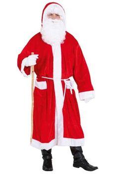 Joulupukin mantteli. Takki ja vyö.