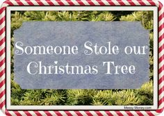 Someone stole our Christmas Tree --- True Story   Messy Money