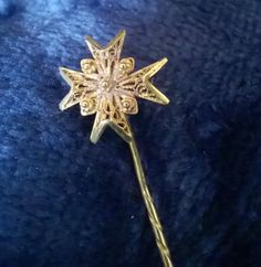 Maltese Cross Lapel Pin, Tie Pin, Hat Pin. Filigree Pin, Vintage Pin, Antique, Jewellery, Gift Idea by TillyofBloomsbury on Etsy