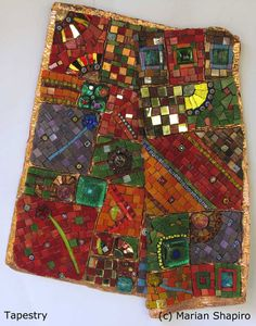 How did you get started in mosaics? In 2003 we were living in the USA and working in the computer industry. My Australian husband decided he wanted to come back and live here, and we both decided …